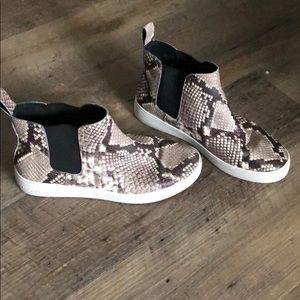 Michael Kors snakeskin sneakers